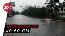 Penampakan Banjir di Kelapa Gading