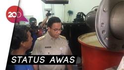Pintu Air Karet Siaga 1, Anies: Mesin Pompa Berfungsi Baik