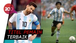 Pique Pilih Messi atau Maradona?