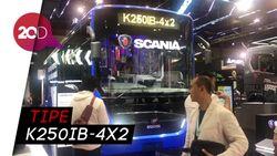 Dirut TransJ Tinjau Bus Scania di GIICOMVEC 2020, Armada Baru?