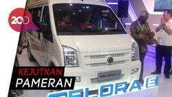 Minivan Listrik DFSK Gelora E Mejeng di GIICOMVEC 2020