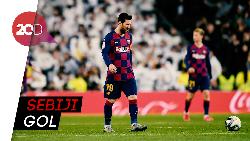 Penalti Messi Bawa Kemenangan Blaugrana dari Sociedad