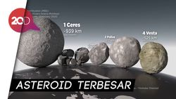 Catat! Asteroid Sebesar Bukit Bakal Lintasi Bumi 29 April 2020