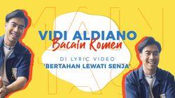 Vidi Aldiano Beri Virtual Hug Saat Membaca Komen Netizen