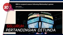 NBA Terinfeksi Virus Corona