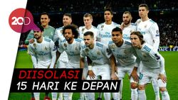 Skuad Real Madrid Dikarantina Gegara Corona