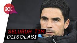 Pelatih Arsenal  Mikel Arteta Positif Corona