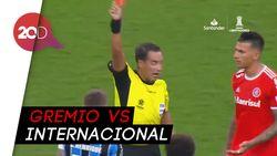 Ribut-ribut Derby Brasil, 8 Pemain Kartu Merah