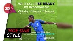 Cegah Virus Corona ala Paul Pogba