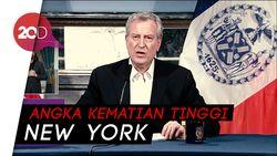 161 Kematian dalam Sehari di New York Akibat Covid-19