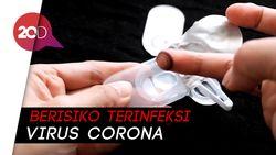 Pandemi Corona, Dokter Sarankan Jangan Pakai Lensa Kontak!