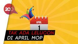 Netizen: Berharap Corona Hanya Lelucon April Mop