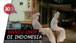 Patroli Pocong Saat Isolasi Corona di Indonesia Dilirik Media Korsel