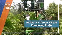 Berlibur ke Taman Wisata Kampoeng Radja, Jambi