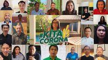 #KitaVSCorona: Puluhan Boss di Indonesia Bersatu untuk Jaga Jarak Aman
