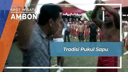 Tradisi Baku Pukul Sapu Lidi Ambon Maluku