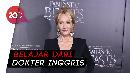 Cerita JK Rowling Latih Pernapasan untuk Hilangkan Gejala COVID-19