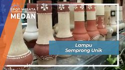 Lampu Semprong Unik, Medan
