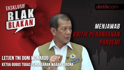Letjen Doni Monardo Menjawab Kritik Penanganan Pandemi