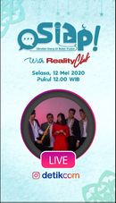 Osiap! Santuy Bareng Reality Club