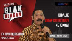 Sebentar Lagi, Blak-blakan Walikota Solo FX Hadi Rudyatmo