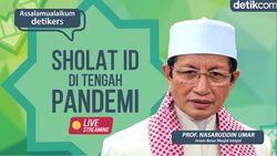 Penjelasan Prof Nasaruddin Umar Mengenai Salat Id di Tengah Pandemi