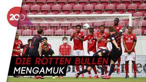 Timo Werner Hat-trick, RB Leipzig Bantai Mainz 5-0
