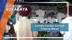 Lomba Cerdas Cermat Tukang Becak, Surabaya
