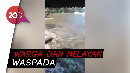 Gelombang Tinggi di Laut Selatan, Sejumlah Warung-Gazebo Rusak