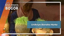 Uniknya Boneka Horta, Bogor