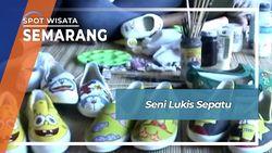 Seni Lukis Sepatu, Semarang