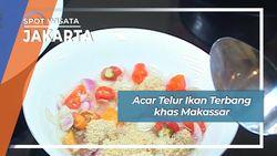 Acar Telur Ikan Terbang Khas Makassar, Jakarta