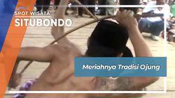 Meriahnya tradisi Ojung, Situbondo