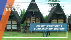 Indahnya Kampung Budaya Sindangbarang, Bogor