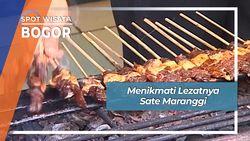 Menikmati Lezatnya Sate Maranggi, Bogor