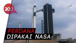 Melihat Uji Coba Roket SpaceX Milik Elon Musk