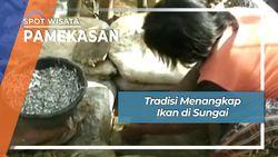 Tradisi Menangkap Ikan di Sungai, Pamekasan