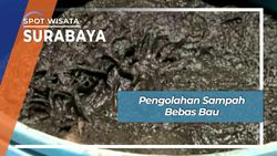 Pengolahan Sampah Bebas Bau, Surabaya