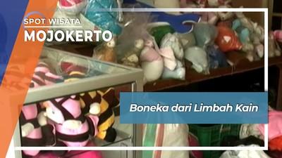 Boneka dari Limbah Kain, Mojokerto