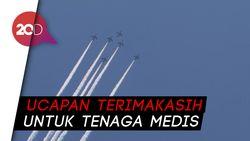 Keadaan Darurat Berakhir, Pesawat Bermanuver di Langit Tokyo