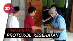 Suasana Salat Jumat New Normal di Masjid Agung Semarang