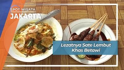 Lezat Nikmat Sate Khas Betawi Kebon Kacang Jakarta
