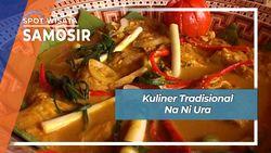 Na Ni Ura, Kuliner Khas, Sushi Ala Samosir