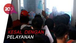 Kericuhan Penumpang Saat Urus Surat Kesehatan di Pelabuhan Parepare