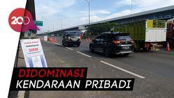 Tak Ada SIKM, 88 Kendaraan di Tol Japek Diarahkan Putar Balik