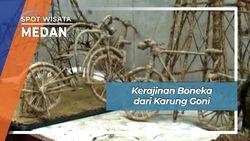 Kerajinan Boneka dari Karung Goni, Medan