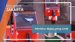 Miniatur Bajaj yang Unik, Jakarta