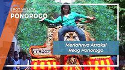 Meriahnya Atraksi Reog Ponorogo, Ponorogo