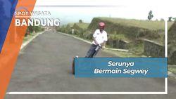 Serunya Bermain Segway, Bandung