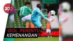 Gol Weghorst Bantu Wolfsburg Kalahkan Werder Bremen